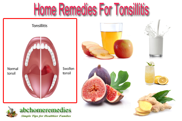 Home Remedies For Tonsils Or Sore Throat