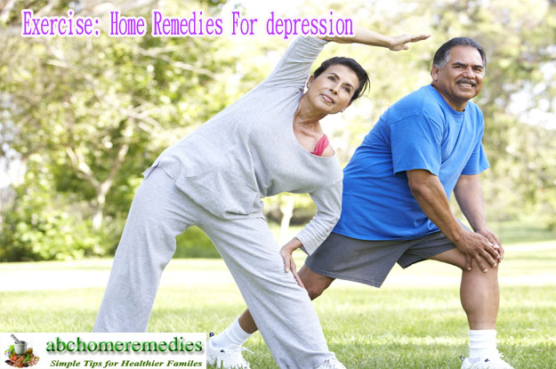 Exercise Home Remedies For depression