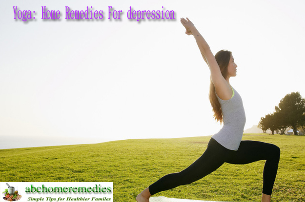 Yoga Home Remedies For depression