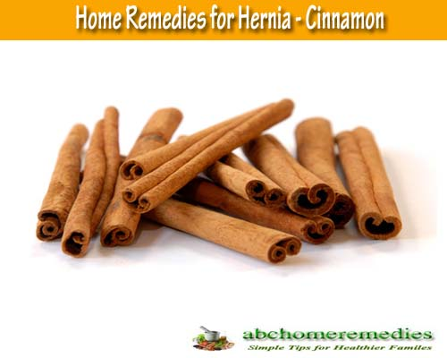 Cinnamon: Home Remedies for Hernia