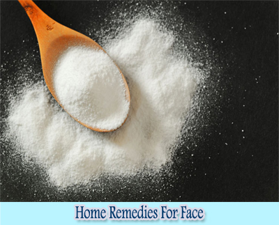 Baking Soda : Home Remedies for Clear Face