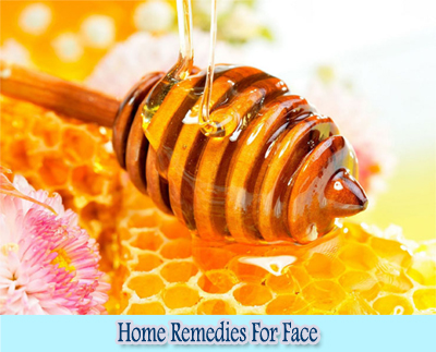 Honey : Home Remedies for Clear Face