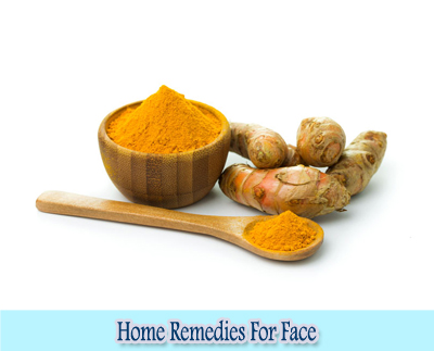Turmeric : Home Remedies for Clear Face