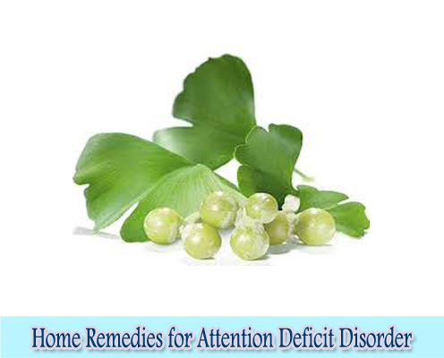 Ginkgo Biloba : Home Remedies for Attention Deficit Disorder