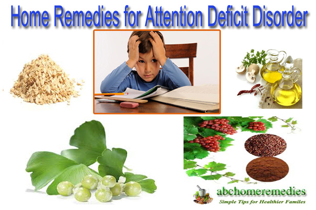 Home Remedies for Attention Deficit Disorder