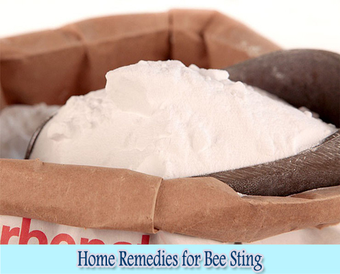 Baking Soda : Home Remedies for Bee Sting