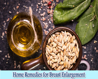 Wheat Germ Oil : Home Remedies for Breast Enlargement