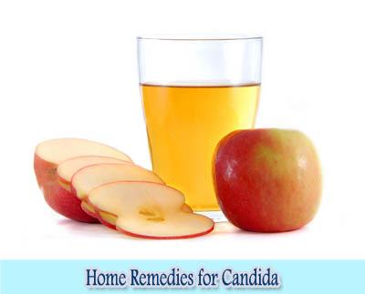 Apple Cider Vinegar : Home Remedies for Candida