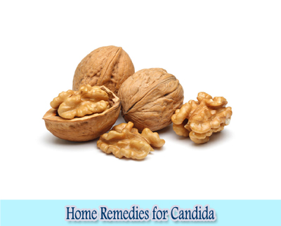 Walnut : Home Remedies for Candida