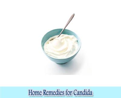 Yogurt : Home Remedies for Candida