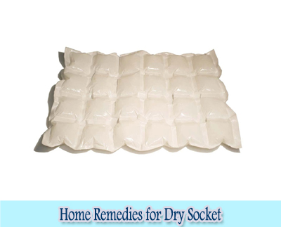 Ice Pack : Home Remedies for Dry Socket