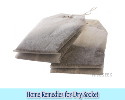 Tea Bag : Home Remedies for Dry Socket