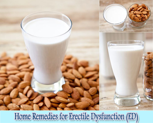 Almonds : Home Remedies for Erectile Dysfunction (ED)