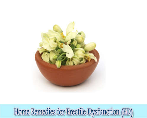 Drumstick flowers :  Home Remedies for Erectile Dysfunction (ED)