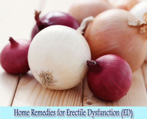 Onions : Home Remedies for Erectile Dysfunction (ED)