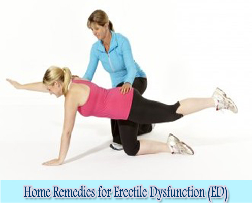 Pelvic Floor Exercises : Home Remedies for Erectile Dysfunction (ED)