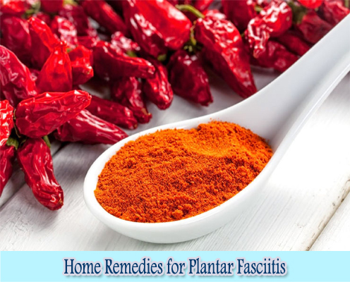 Cayenne Pepper : Home Remedies for Plantar Fasciitis