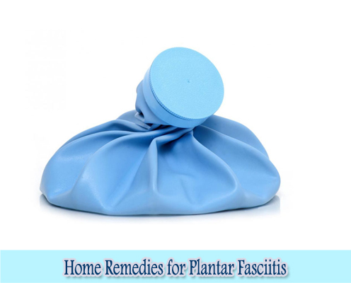 Cold Compress : Home Remedies for Plantar Fasciitis