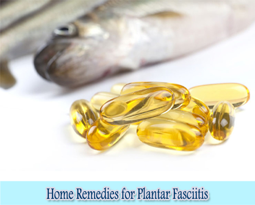 Fish Oil : Home Remedies for Plantar Fasciitis