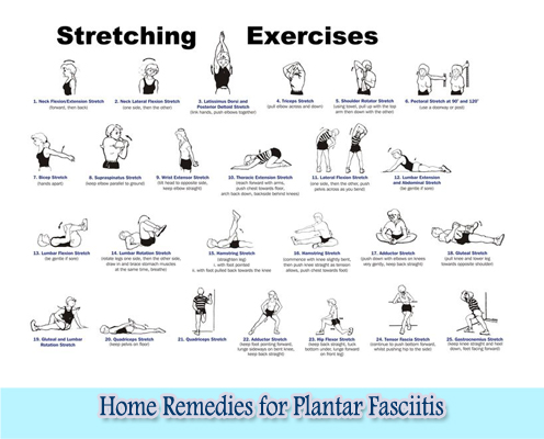 Stretching Exercises : Home Remedies for Plantar Fasciitis