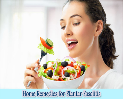 Dietery Changes : Home Remedies for Plantar Fasciitis