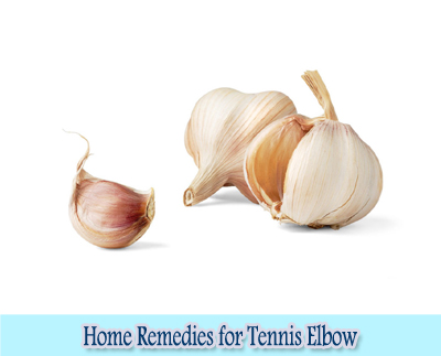Garlic : Home Remedies for Tennis Elbow