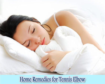 Rest : Home Remedies for Tennis Elbow