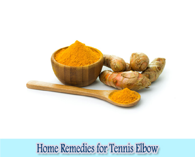 Turmeric : Home Remedies for Tennis Elbow