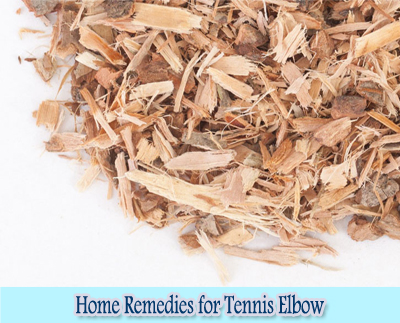 White Willow Bark : Home Remedies for Tennis Elbow