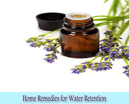 Aromatherapy : Home Remedies for Water Retention
