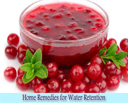 Cranberry Juice : Home Remedies for Water Retention