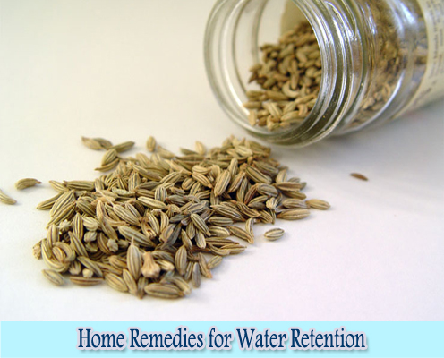 Fennel Seeds : Home Remedies for Water Retention