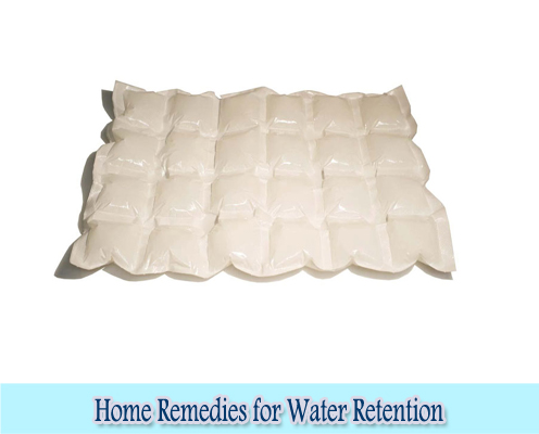Ice Packs : Home Remedies for Water Retention