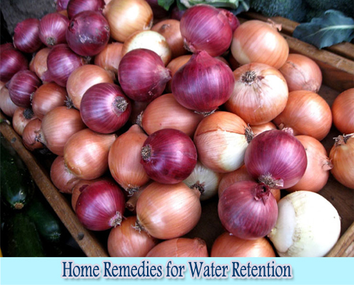Onions : Home Remedies for Water Retention