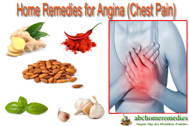 Home Remedies for Angina (Chest Pain)