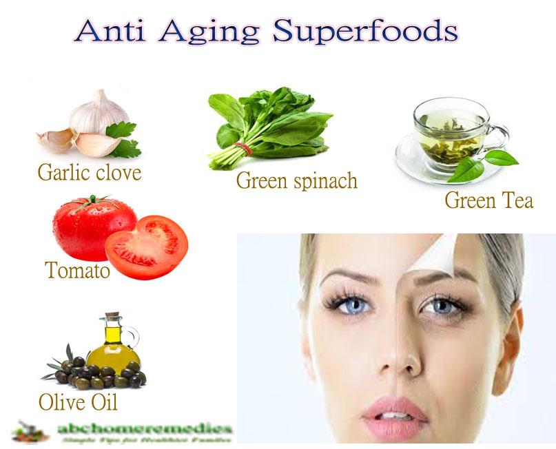 Top Ten Anti Aging Superfoods